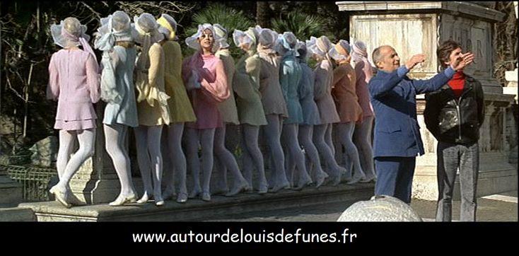 Rome, lieu de tournage du Corniaud, de Fantomas se Déchaîne et de L'Homme-Orchestre avec Louis de Funès