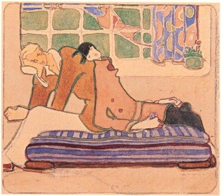 Ilustración de Marga Gil Roësset.