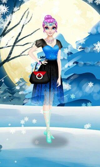 Frozen sallon ....ELSA