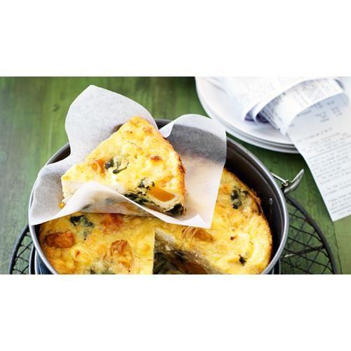 Roast pumpkin, spinach and ricotta pie recipe - By Australian Women's Weekly…