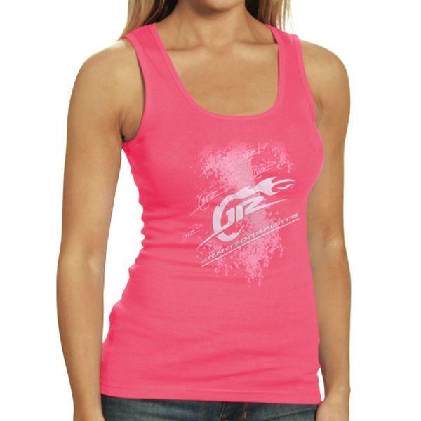 JR Motorsports Women's Logo Graphic Tank - Pink - $24.99