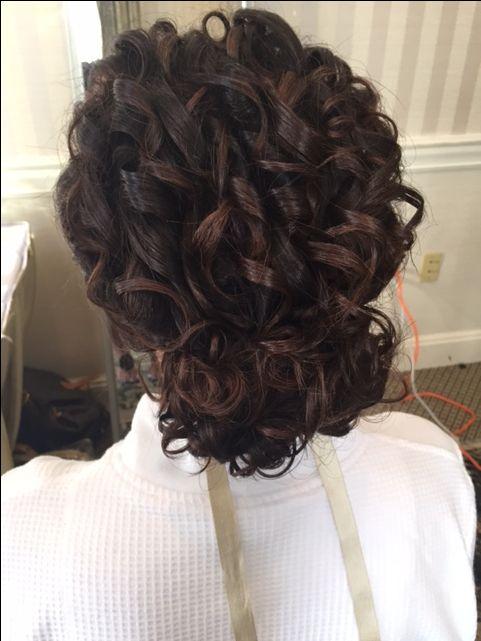 Hair & Nail Excellence. Wedding Hair. Curls. Natural curls. Bride. Bridal Hair