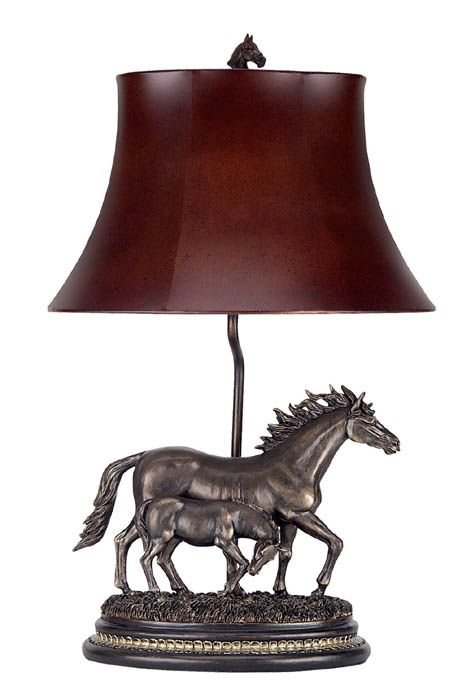 western lighting | Western Lamps, Western Style Lamps, Table, Accent & Desk Lamps