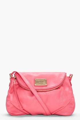 MARC BY MARC JACOBS Coral Classic Q Natasha Bag: Jacobs Pur, Natasha Bags, Coral Classic, Design Handbags, Jacobs Coral, Awesome Handbags, Marc Jacobs Bags, Bags Purses Clutches, Fashion Handbags