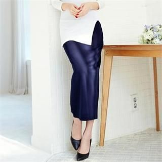Buy 'ANNINA – Band-Waist Maxi Skirt' with Free International Shipping at YesStyle.com. Browse and shop for thousands of Asian fashion items from South Korea and more!