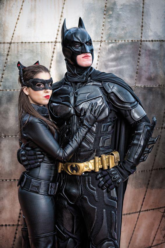 Batman (Josh Maher), Cat Woman (Stacey Herbert) #cosplay