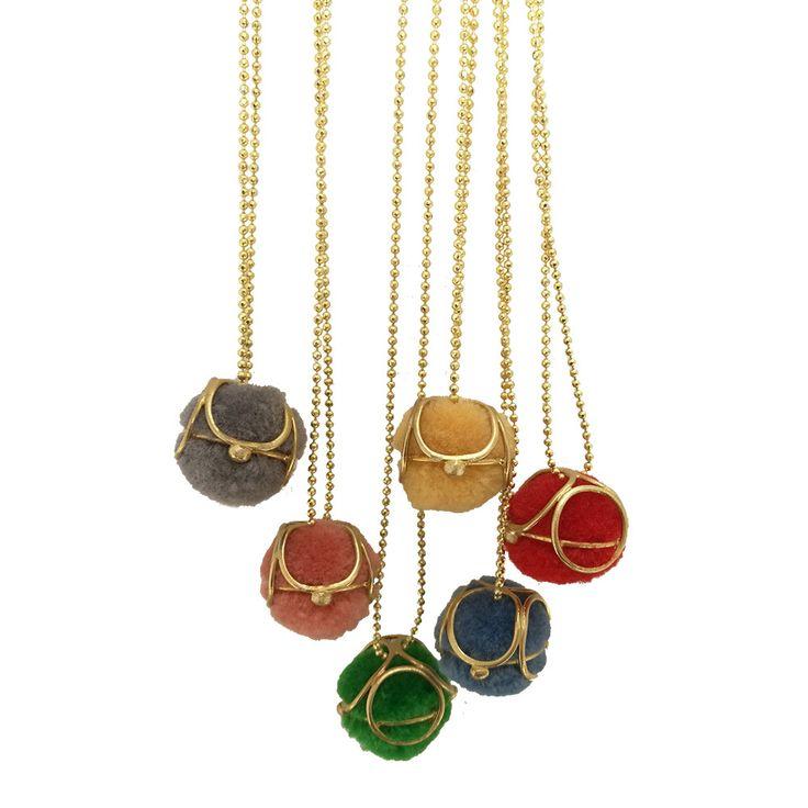 Bohemian pendant made of Brass gold plated Boho pendant