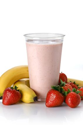 Choco-Fruity Smoothie from The Dr. Oz Show