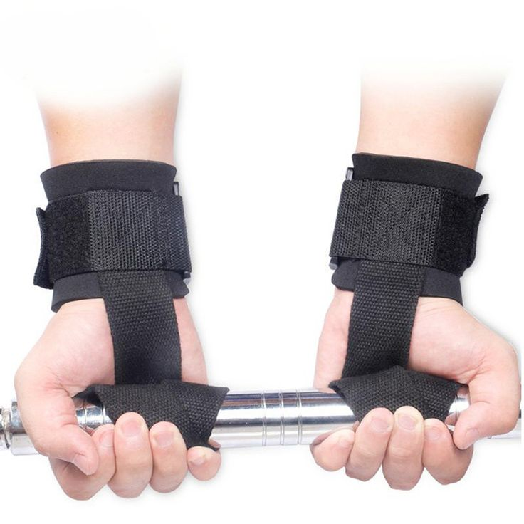 New Arrival <font><b>Weight</b></font> <font><b>Lifting</b></font> Hand Bar Grips Straps Wrist Support Gym Training WrapsGloves Free shipping wholesale H1E1.  Find out more at the picture