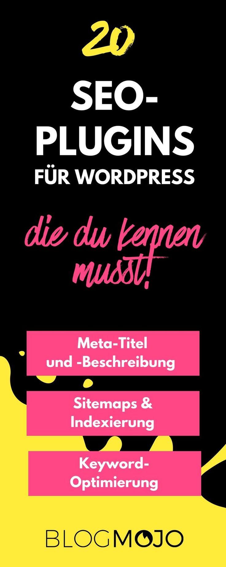 Die besten 20 SEO-Plugins für WordPress