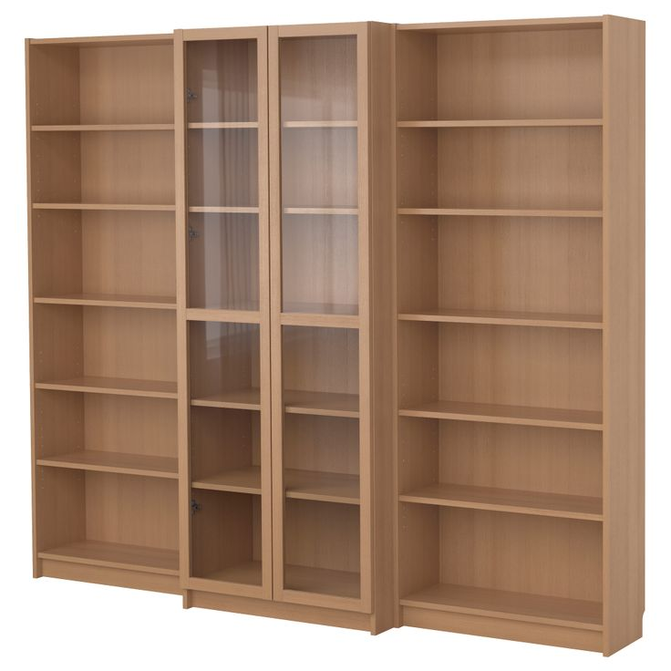 billy bookcase combination with doors beech veneer ikea places to visit. Black Bedroom Furniture Sets. Home Design Ideas