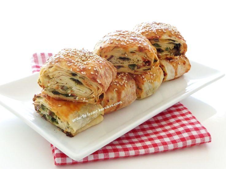 su böreği lezzetinde muhteşem bir börek oluyor.tarifim çok eskidir 86 yılından defterime kayıtlı..nostaljik bir lezzet...ve ...