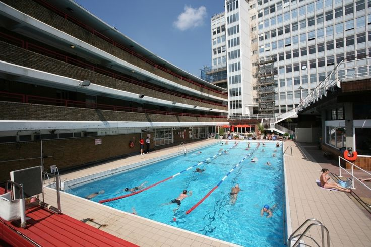 17 best images about outdoor london on pinterest gardens - London swimming pools with slides ...