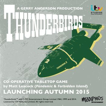 #thunderbird Tabletop Game is GO! #modiphius #tabletopgames