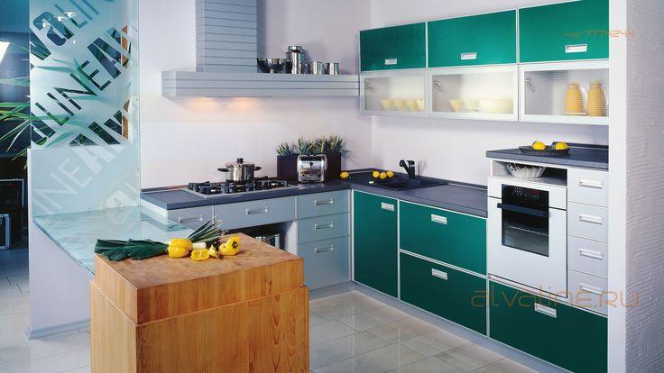 Любой цвет фасадных панелей кухни на заказ.