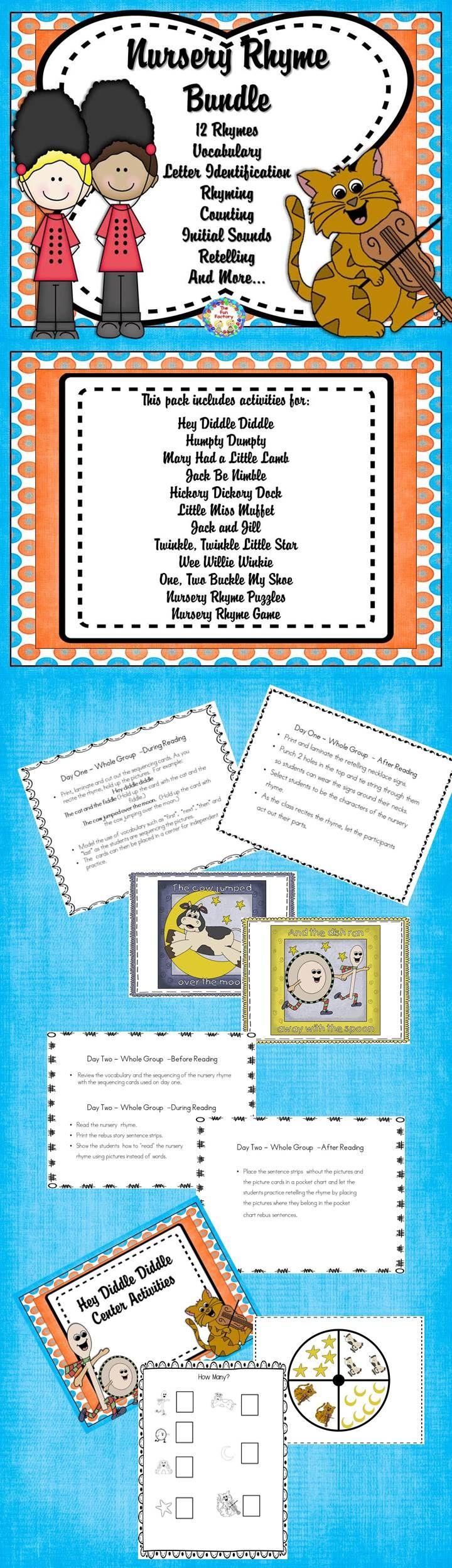 67 best Nursery Rhymes images on Pinterest | Rhyming activities ...