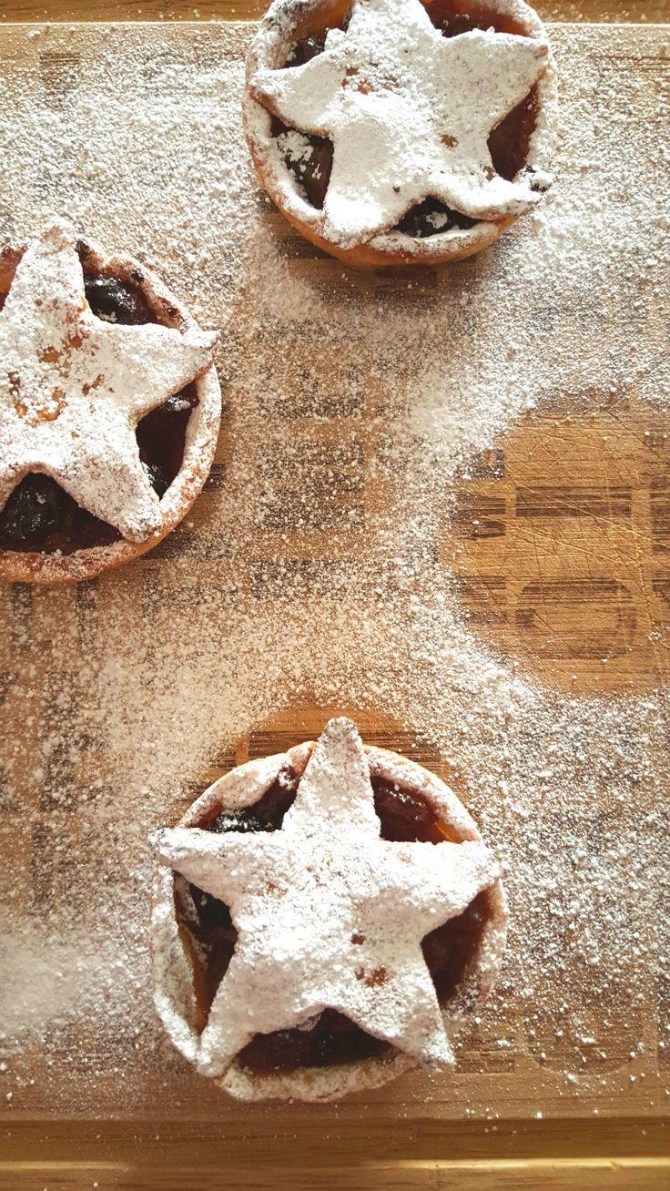 Healthy Mince Pies - Tortine Natalizie di Frutta - One Fool Pie