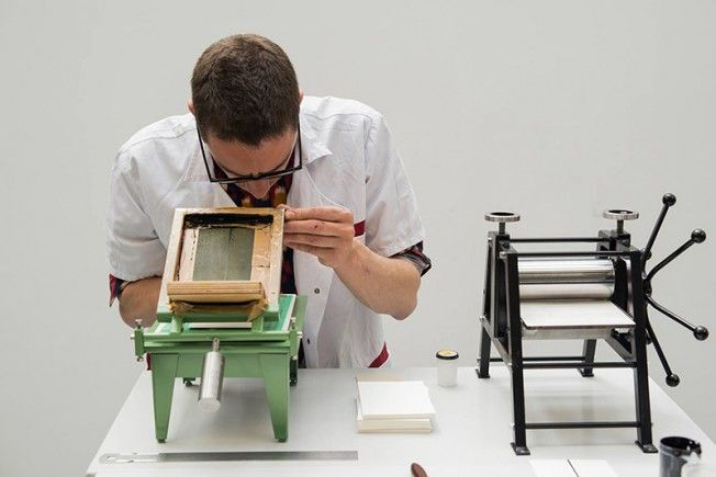 The impressorinha mini DIY printer set via@ideafixa