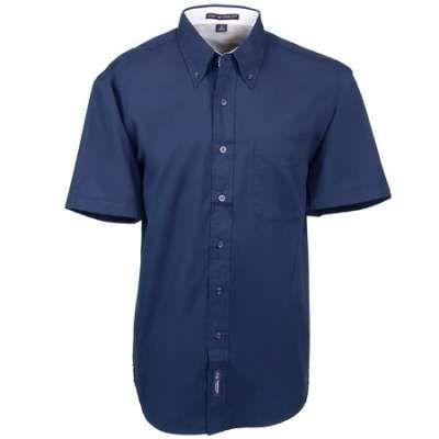 Port Authority S508 Men's Navy Short Sleeve Button-Up Shirt