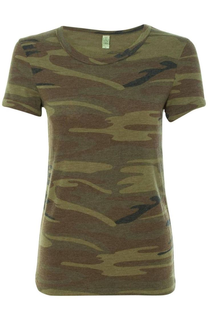 This basic Camo Tee is a must have for any season!! Pair this with your favorite denim or cutoffs for the ultimate look.  Camo Tee by Alternative Apparel. Clothing - Tops - Tees & Tanks Miami Florida