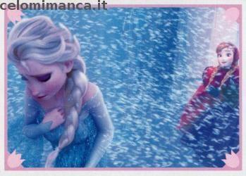Frozen 2 - Momenti Magici: Fronte Figurina n. 148