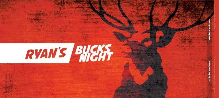 Custom Bucks Stubby Holder Design