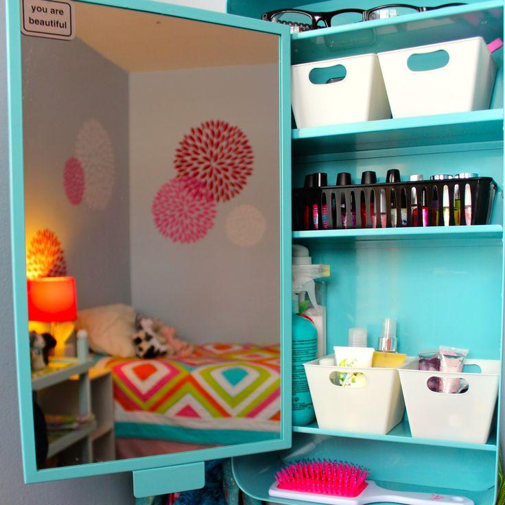 No Room For A Vanity In Your Tween's Room? Try A Medicine