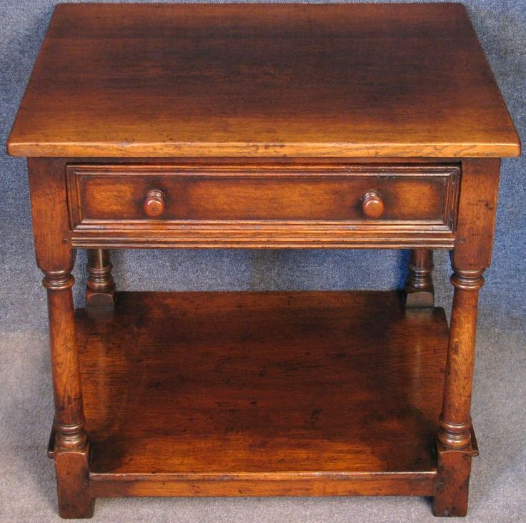 Titchmarsh & Goodwin Oak Single Drawer Side / End / Occasional Table RL21828