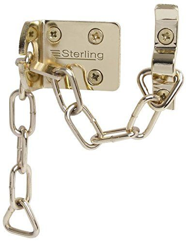 goods4less DOOR CHAIN HEAVY DUTY - BRASS PLATED DCB200 By STERLING SECURITY PRODUCTS DOOR CHAIN HEAVY DUTY - BRASS PLATED