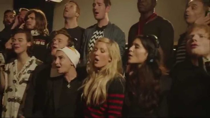 Band Aid 30 Christmas song released for charity in West Africa, feat. One Direction and many more artists!
