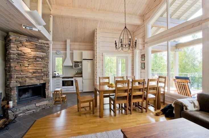 Holiday home Heijastus. Honka log homes.