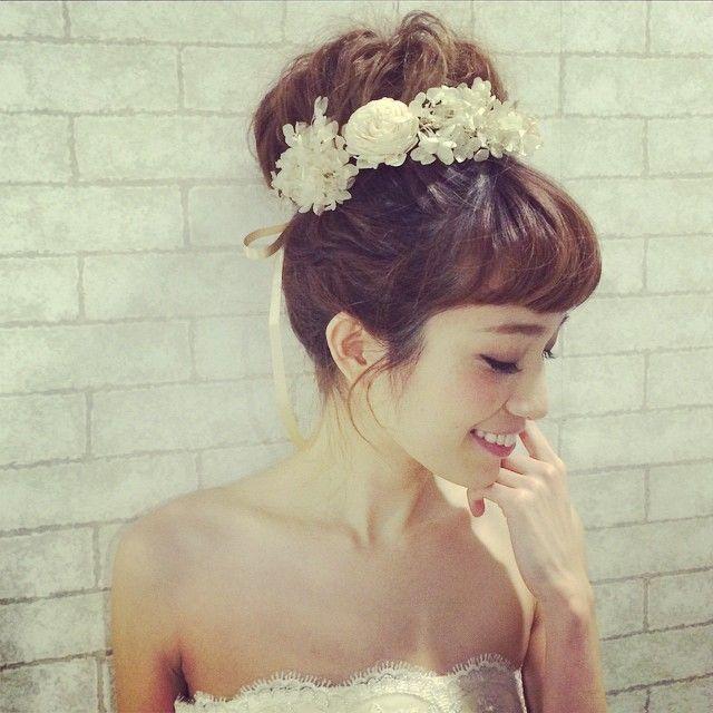 花嫁さん必見!最高に可愛くなれる*髪型カタログ|MERY [メリー]