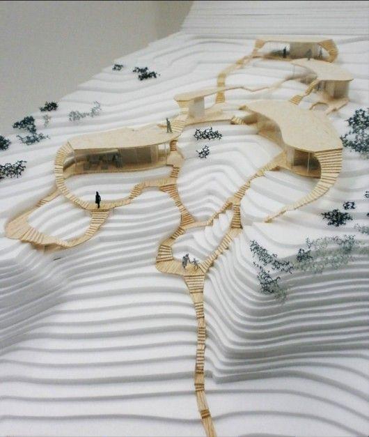 Akihisa Hirata's proposal. Image Courtesy of Ochoalcubo