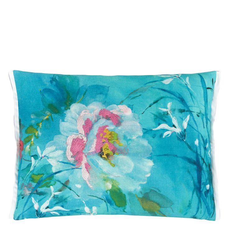 Designers Guild Avelli Turquoise cushion