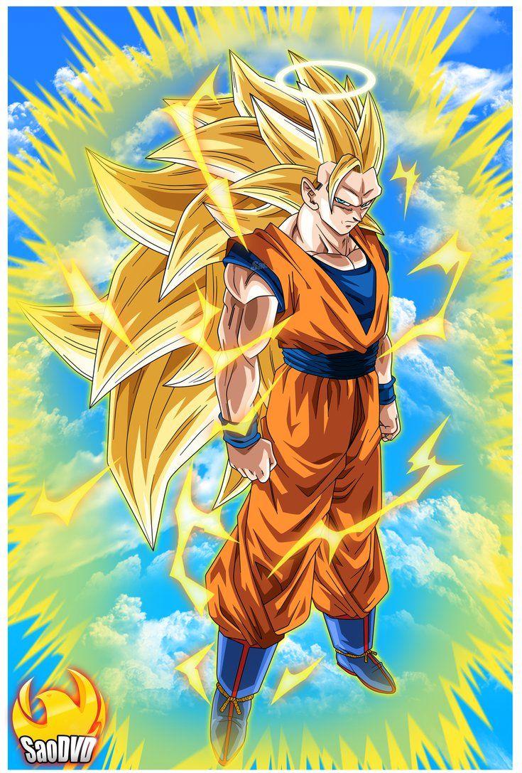 Goku Ssj3 - Moment Epic #2 by SaoDVD on DeviantArt