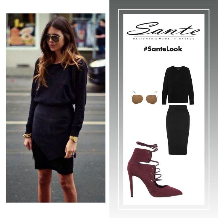 Who's that girl? #SanteLook Shop online: www.santeshoes.com