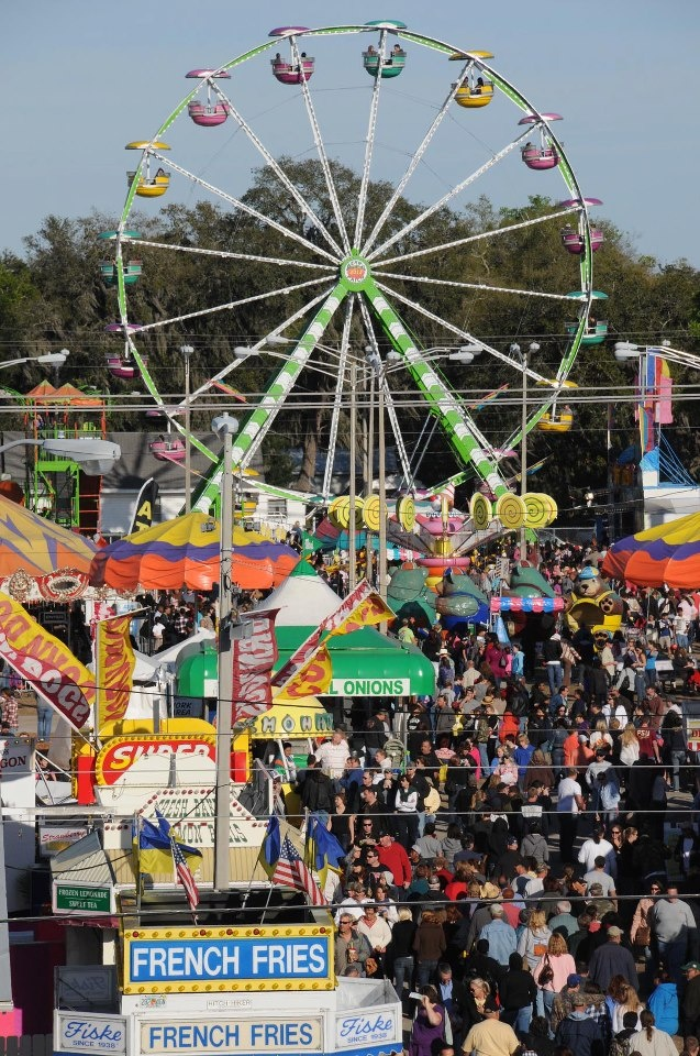 Florida Strawberry Festival.  Another fair I loved going when we lived down in FL!
