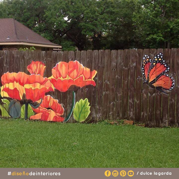 30 best fence shed ideas images on Pinterest Garden mural