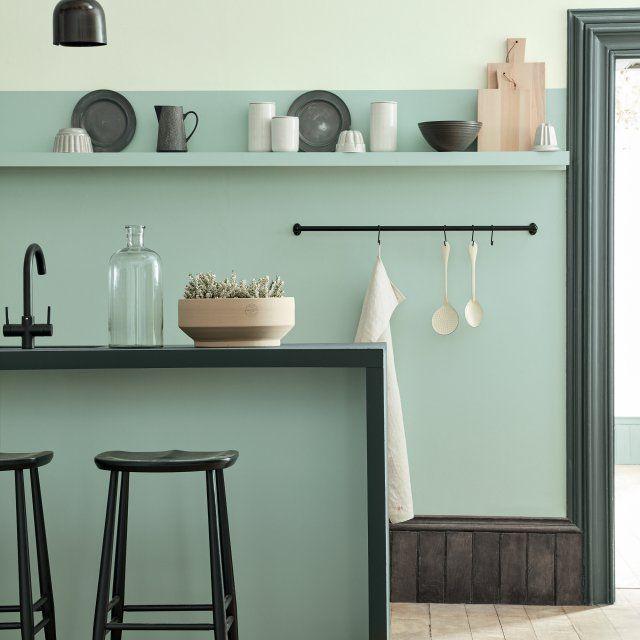 1000 id es propos de couleurs de peinture de cuisine for Coloris peinture facade