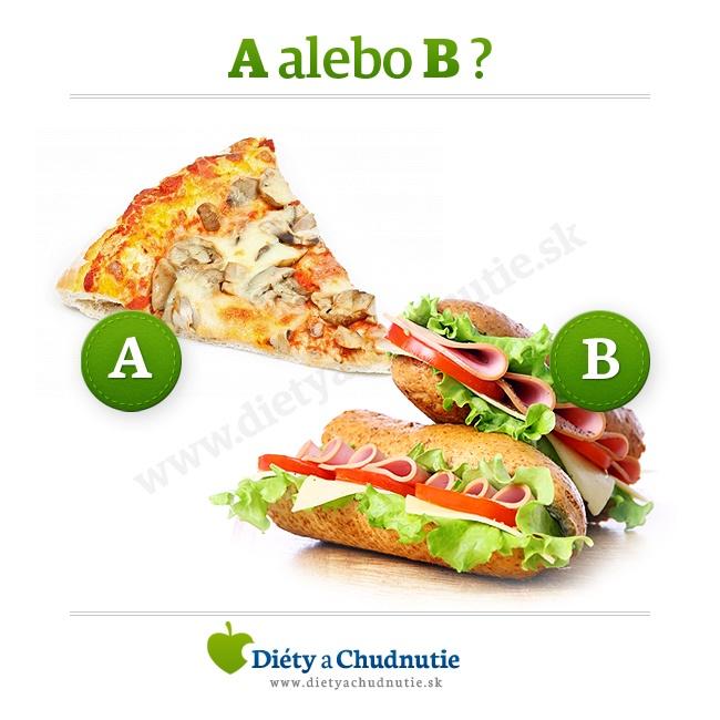 Pizzu alebo bagetu?