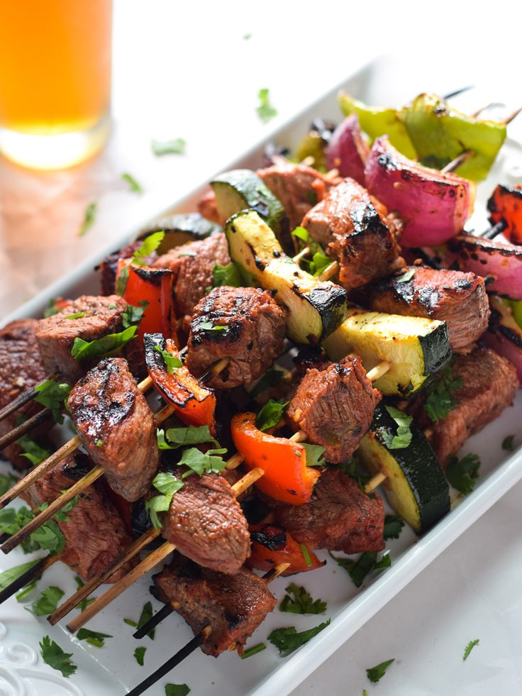... Beef Skewers are the perfect appetizer or dinner for entertaining