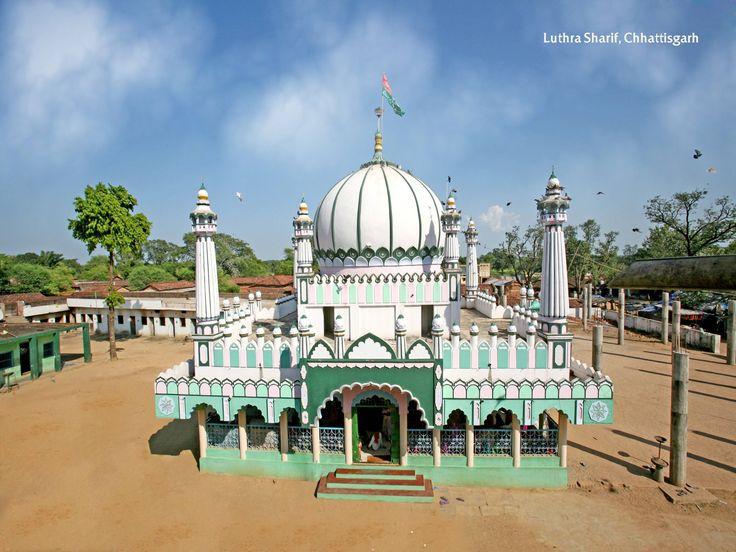 Luthra Sharif is famous for Baba Syed Insan Ali Shah's dargah in Chhattisgarh. #faith #belief #strength #dargah