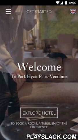 Park Hyatt Vendome  Android App - playslack.com ,  Experience the City of Lights from its central heart at Park Hyatt Paris-Vendôme– one of the most luxurious 5 star hotels in Paris. Our coveted location brings the city to your doorstep, overlooking the fashionable Rue de la Paix and within walking distance of Place Vendôme and Opéra Garnier. Enjoy evening strolls along the Avenue des Champs-Élysées, browse exhibits at the Louvre Museum and Musée d'Orsay, or spend an afternoon on the Rue du…