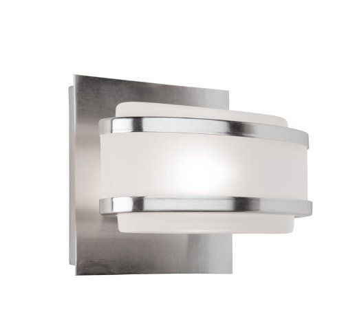 lighting ac531bn boulevard one light vanity fixture brushed nickel