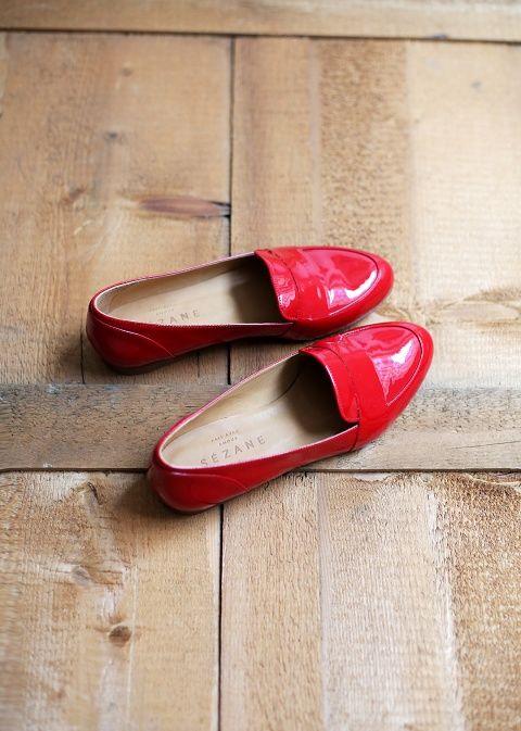 Sézane / Morgane Sézalory - Mayfair loafers #sezane #mayfair www.sezane.com/fr #frenchbrand  #frenchstyle #loafers