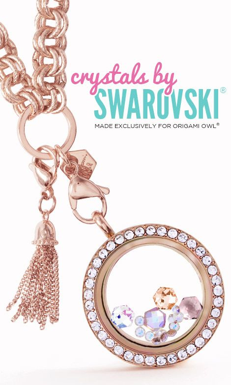 Origami Owl lockets have #Swarovski #crystals #birthstones too!!  http://dreambig.origamiowl.com/collections.ashx