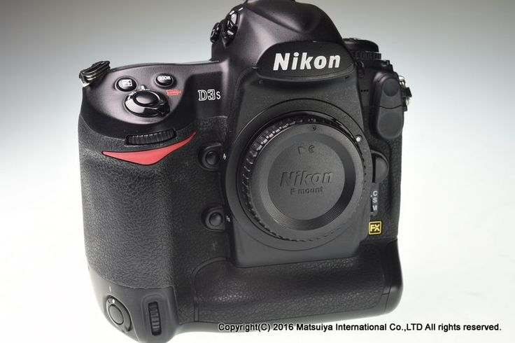 NIKON D3s Body 12.1MP Digital Camera 10368 Shutter Count Excellent+ #Nikon
