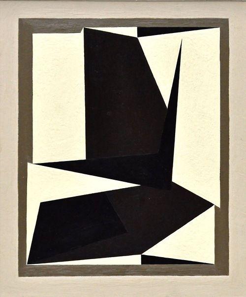 """nobrashfestivity: """"Victor Vasarely, 1950 """""""