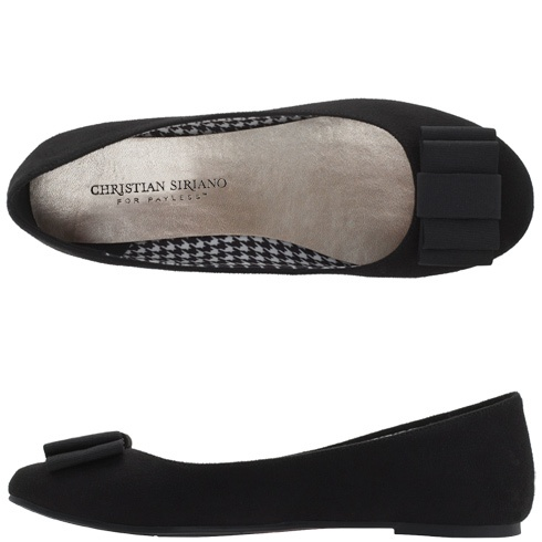 Womens - Christian Siriano for Payless - Women\u0027s Camile Bow Flat - Payless  Shoes