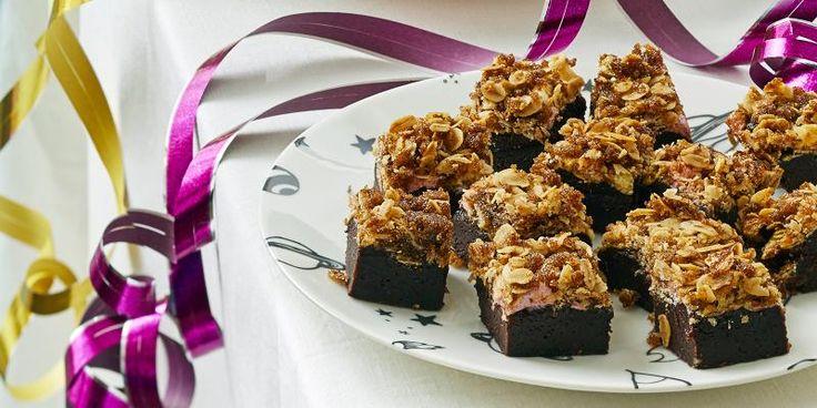 Rapeat karkkileivokset, suklaata ja vaahtokarkkeja - nam!
